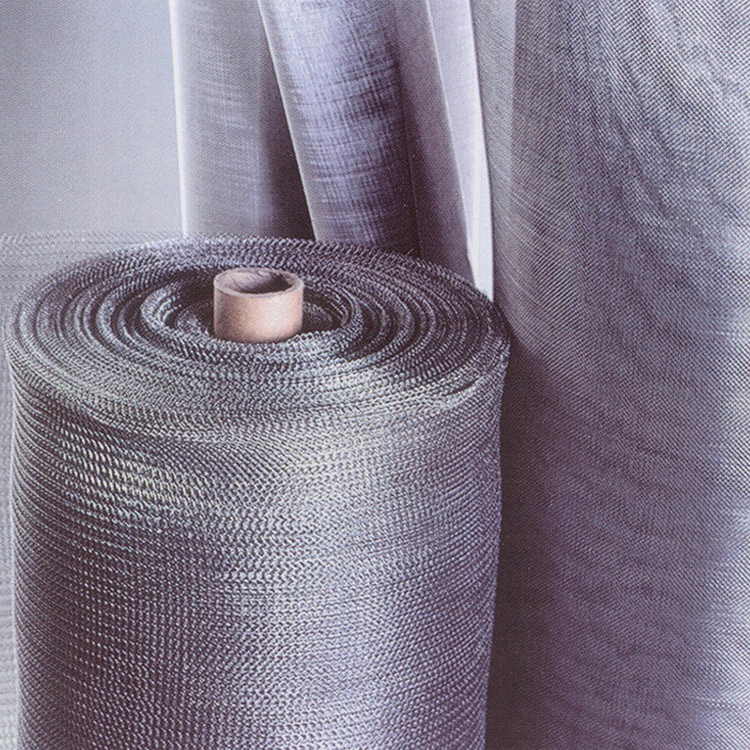 60mesh-2meshFiltering Hot Dipped Galvanized or Electro Galvanized Iron Wire Mesh