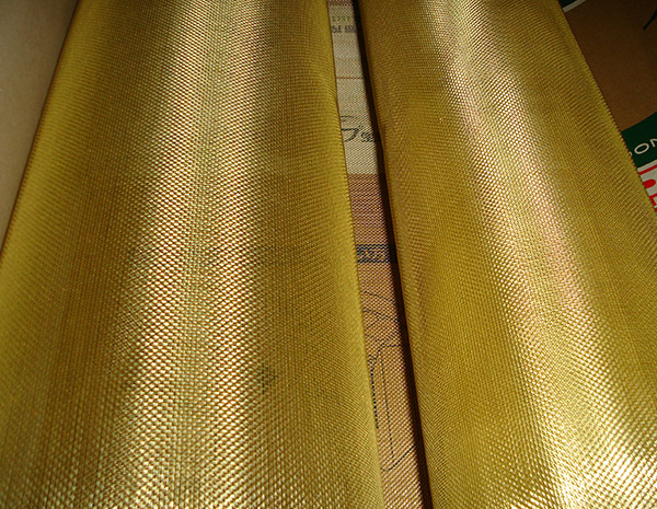 16 mesh Copper Brass Plain Woven Wire Mesh for Filtering